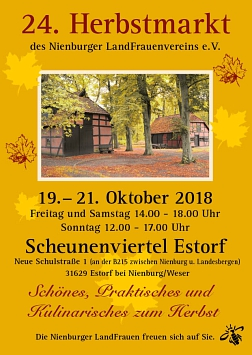 Herbstmarkt-2018-Termin©LFV Nienburg