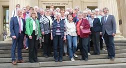 Besuch beim Landtag