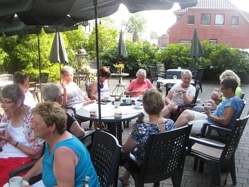 2019.06.26 Fahrradtour Siedenburg Eisessen bei Block 3©LFV Wietzen;EM