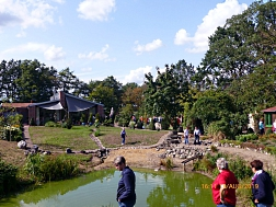 Gartenanlage bei Feldmanns