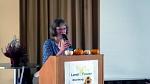 Frau Dr. Hanisch referiert über den Kürbis