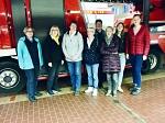 Nienburger Landfrauen bei der Feuerwehr