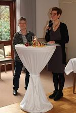 Adventsfrühstück 2017 Angela und Mildrid