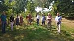 Baumspende für das Kloster Schinna