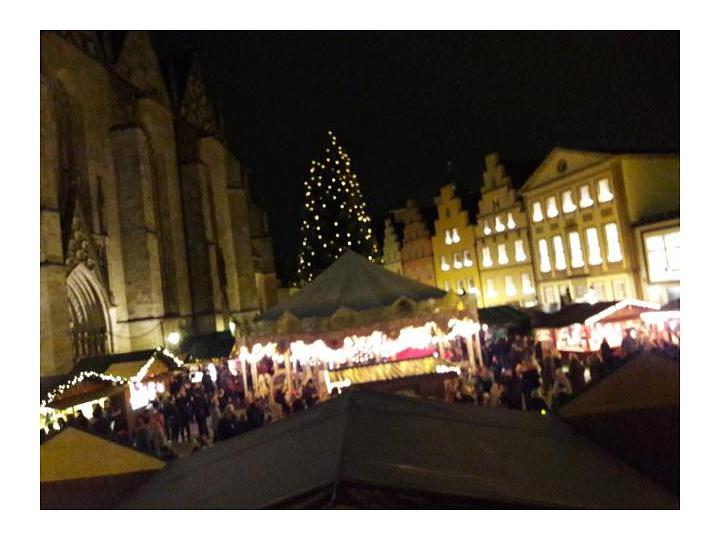 Blick auf den Weihnachtsmarkt©LFV Stolzenau