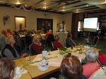 Dr. Torben Jüres referiert über die Palliativmedizin