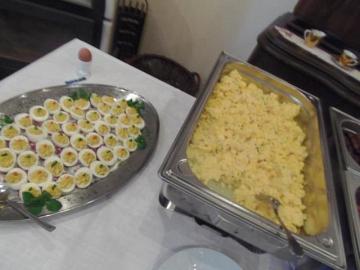 leckeres frühstück erwartete die Frauen©LFV Stolzenau