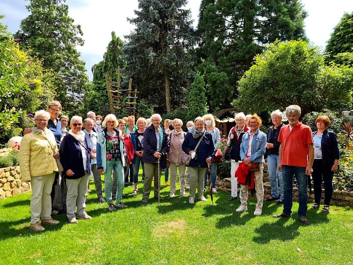 Gartentour Bellersen in Twistringen©LFV Wietzen