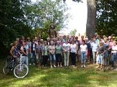 Gruppenbild zur Radtour 2018