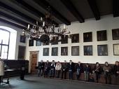 Im Rathaus Osnabrücks