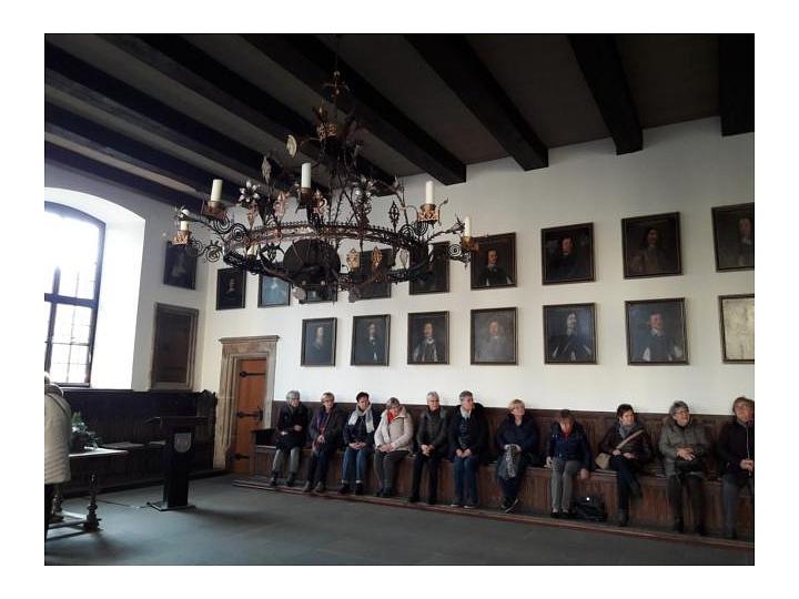 Im Rathaus Osnabrücks©LFV Stolzenau