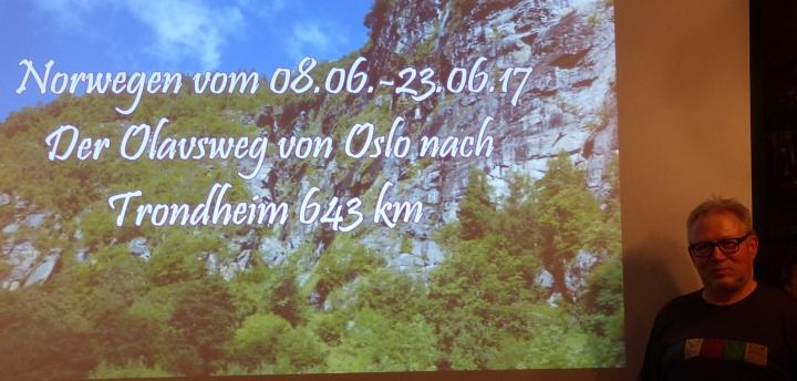 K-G Schulz - Pilgertour Olavsweg