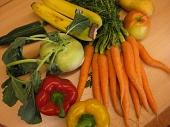 Obst- und Gemüsevielfalt