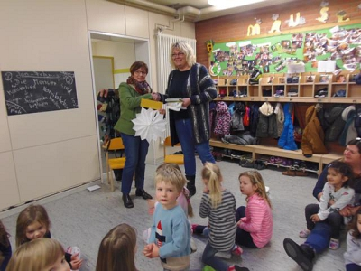 Spende an den Kindergarten Landesbergen