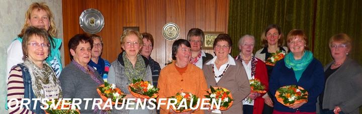 Unsere Ortsvertrauensfrauen für Borstel und Umgebung.©LFV Borstel