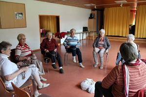 Tanzen im Sitzen mit Irene Rosebrock